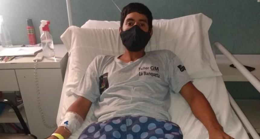 """Crisanta Aranda: """"Necesitamos los insumos que IOMA no se hace cargo y que el cirujano está pidiendo en carácter de urgente"""""""