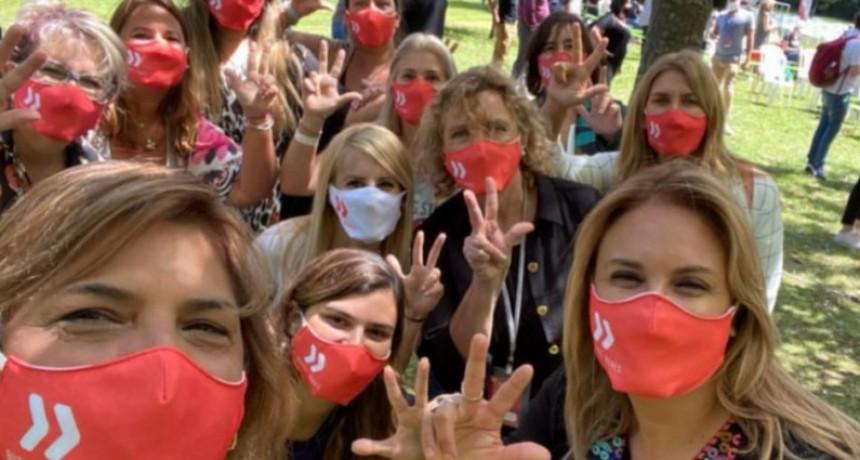 """Revilla, candidata a vicepresidenta de la UCR señaló que """"las mujeres somos las que vamos a darle el triunfo a la lista 123"""""""