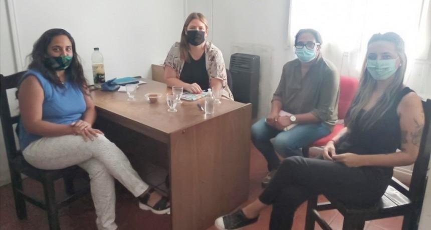 Gral. Alvear: Visita de la Coordinadora de la 7ª Región del Ministerio de las Mujeres, Políticas de Genero y Diversidad Sexual