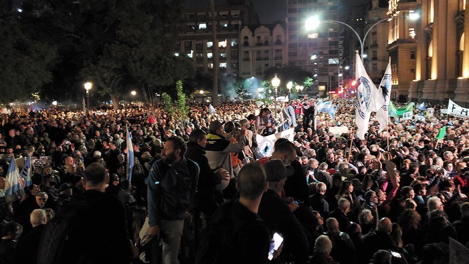 """Movilizaciones en respaldo a """"la Justicia independiente"""" y la investigación de Ramos Padilla"""