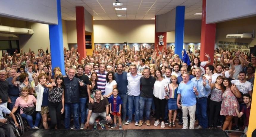 Santa Fe: Rossi brindó su apoyo a Perotti y los precandidatos de Unidad Ciudadana