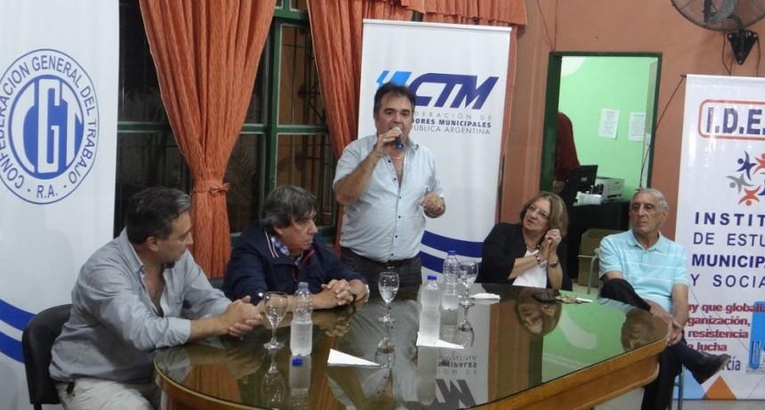 Merlo: El Sindicato de Trabajadores Municipales renovó autoridades