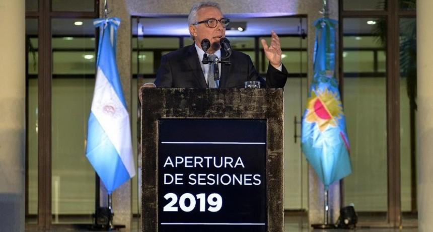 """Zamora abrió las sesiones y expresó que """"mi deseo es seguir construyendo el Tigre del futuro"""""""