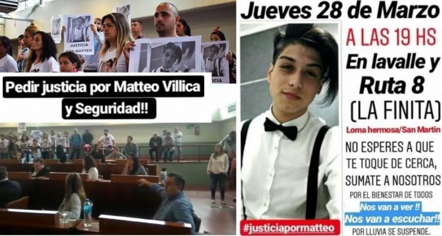 Tres de Febrero: El HCD suspendió sesión por reclamo de familiares de Matteo Villica