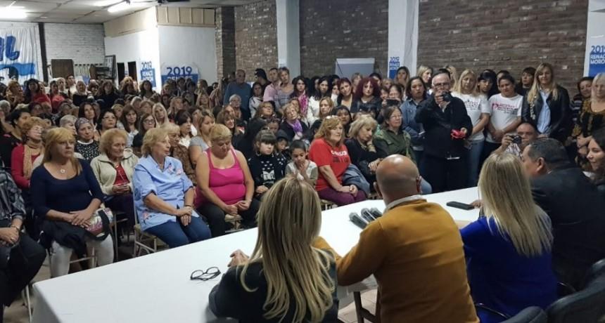 Morón: Marisol Merquel encabezó el encuentro del Frente de Mujeres en apoyo a CFK