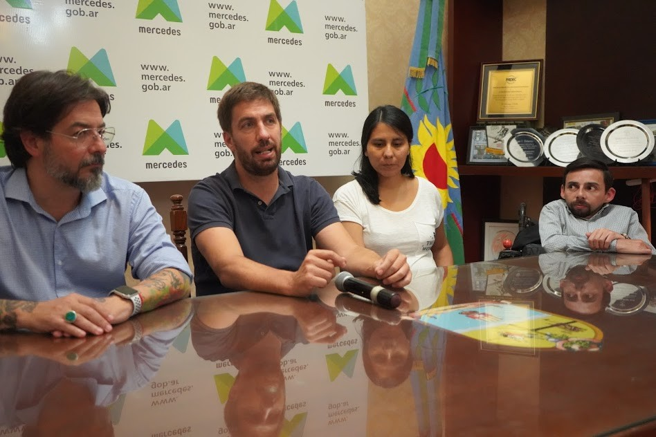 Mercedes: Ustarroz recibió al Director de la Agencia de Discapacidad nacional
