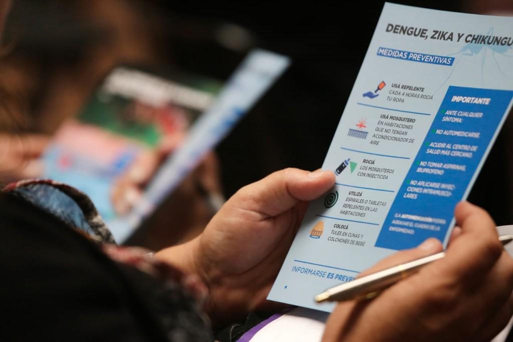 Alte. Brown: El municipio brindó charlas informativas a escuelas sobre el dengue y coronavirus