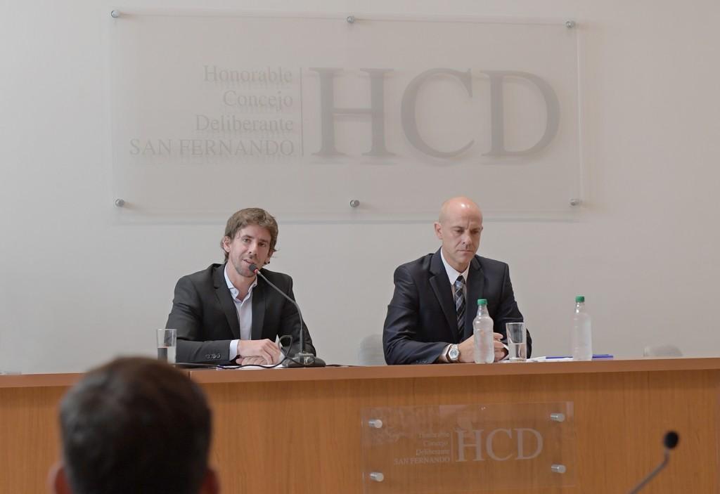 """Juan Andreotti: """"Hoy es la primera vez que me toca inaugurar las sesiones legislativas y siento un gran orgullo por el lugar que me toca ocupar"""""""
