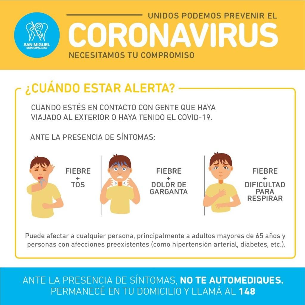 San Miguel declara la emergencia sanitaria por el coronavirus