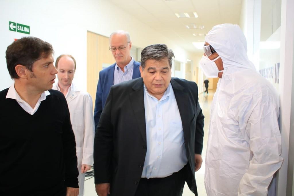 Inauguran en Jose C. Paz el primer centro contra La Pandemia de Bs.As
