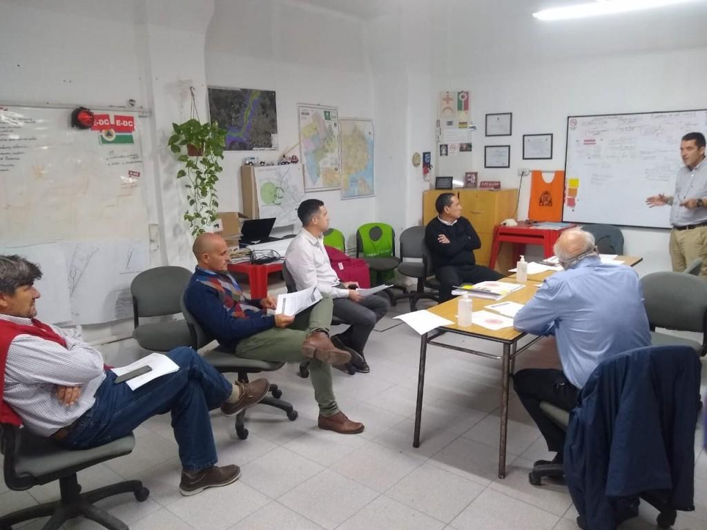 Luján: reunión con la Cooperativa Eléctrica para fortalecer medidas de prevención