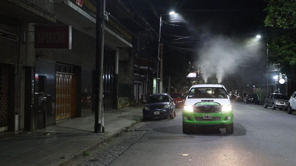 Avellaneda: La comuna realiza fumigaciones contra el dengue