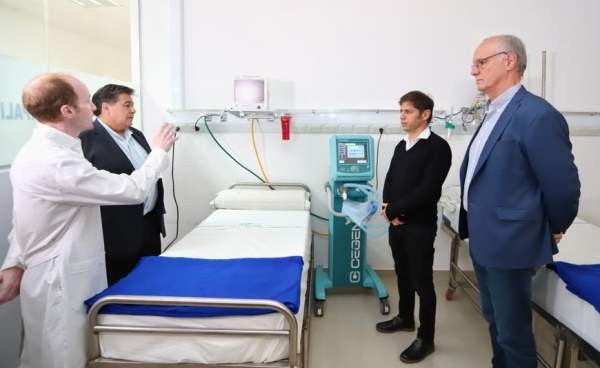 José C. Paz: Sebastián Caro explicó las prevenciones que se toman en el hospital Caporaletti