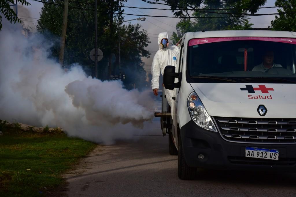 San Martín: El municipio continúa con las tareas de fumigación contra el Dengue