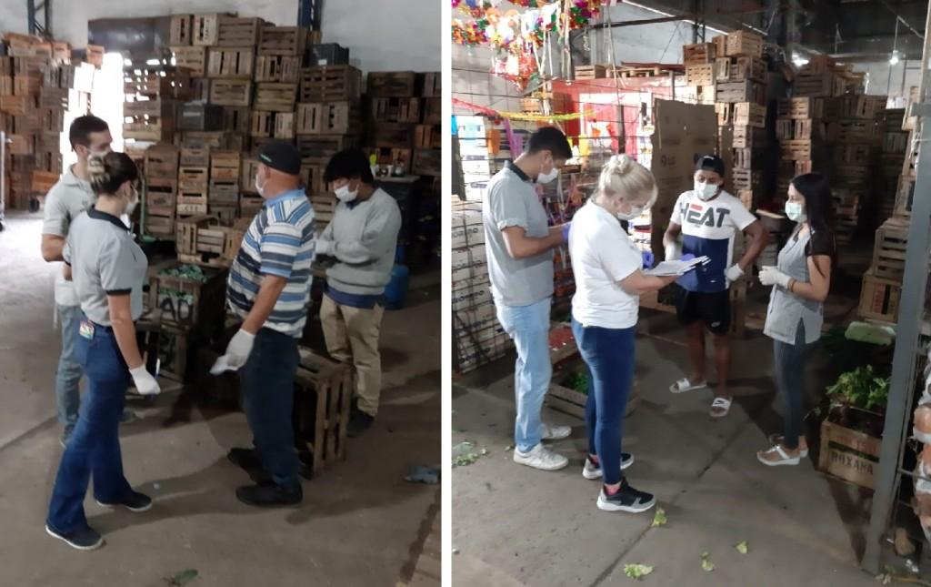 Escobar: Realizan severos controles en los principales mercados de frutas y verduras