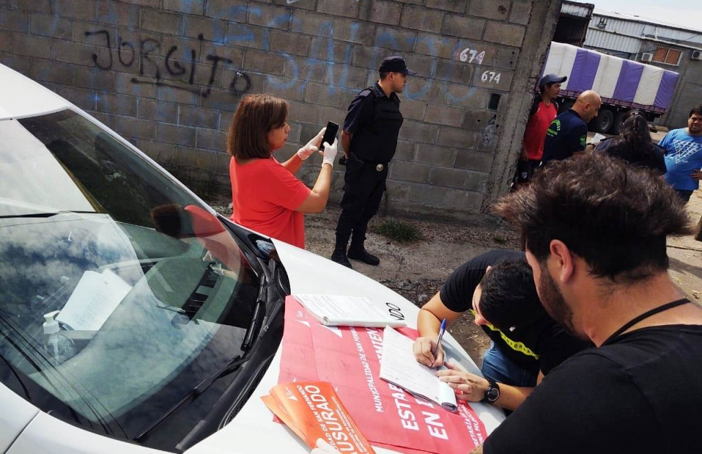 San Fernando: Clausuran aserradero que violaba la cuarentena obligatoria