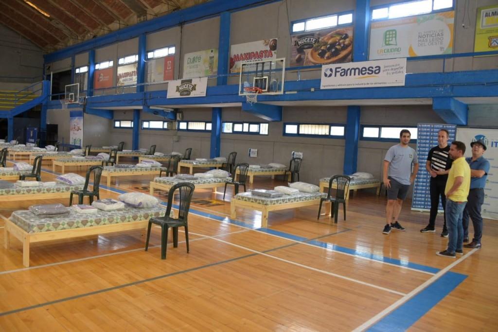 Se conformó un centro de aislamiento y continúan las obras en el Hospital de Ituzaingó