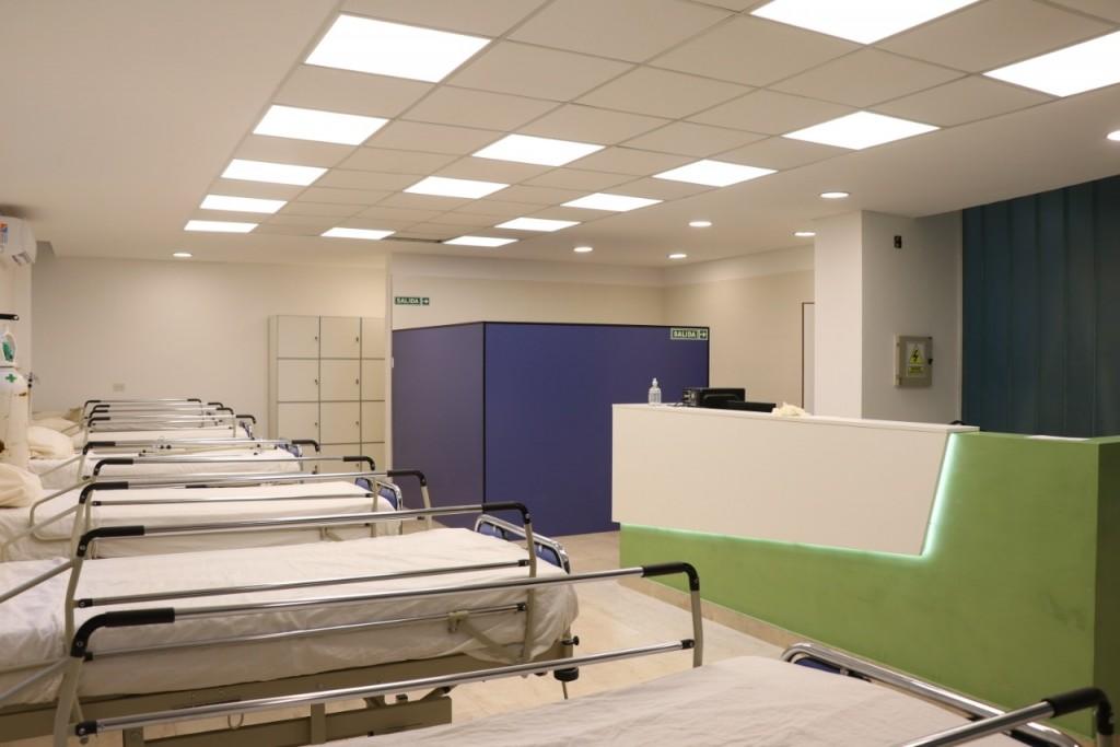 Malvinas: Leo Nardini prepara hospital para atención exclusiva de pacientes con Covid-19