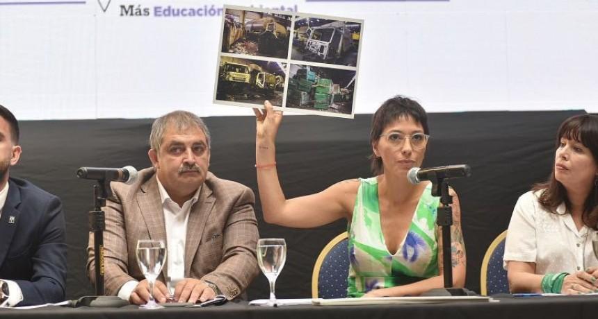 """Quilmes: Mayra Mendoza aseguró que trabajan """"por un gobierno moderno, inclusivo y sustentable"""""""