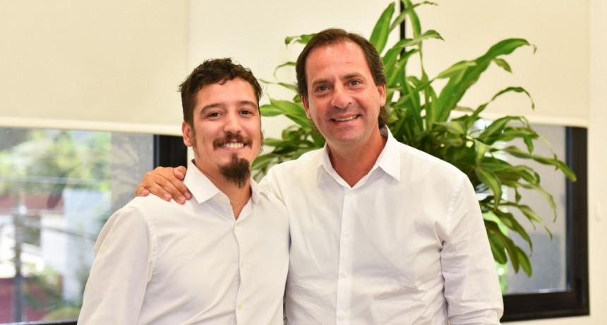 Escobar: Ariel Sujarchuk recibió al nuevo gerente de la UDAI, Leonardo Moreno