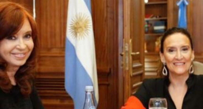 CFK denunció a Michetti por defraudación millonaria en obras del Senado