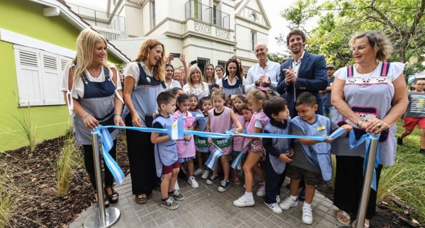 San Fernando: Juan Andreotti inauguró el renovado Jardín Provincial Nº 901