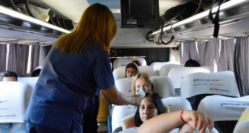 Tigre: Puesto sanitario con cámara termográfica para detectar posibles casos de Dengue
