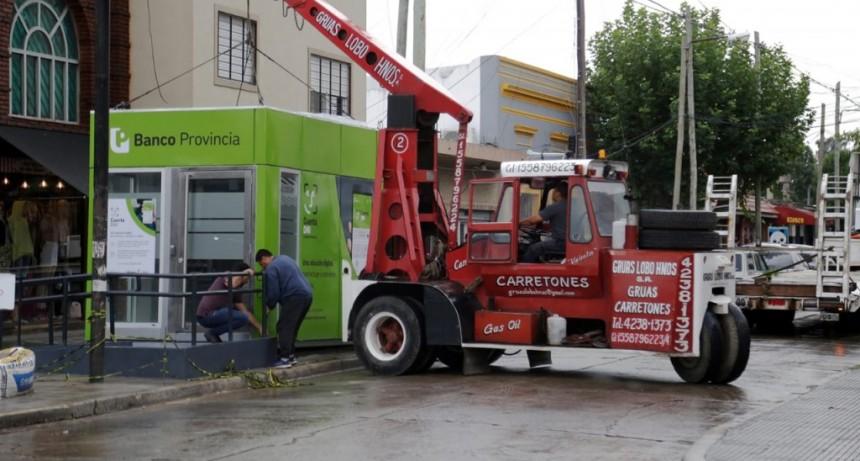 Nuevo servicio de cajeros automáticos en Longchamps