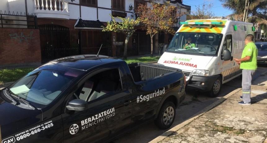 Berazategui: Controles ante la denuncia de una vecina que no cumplía la Cuarentena