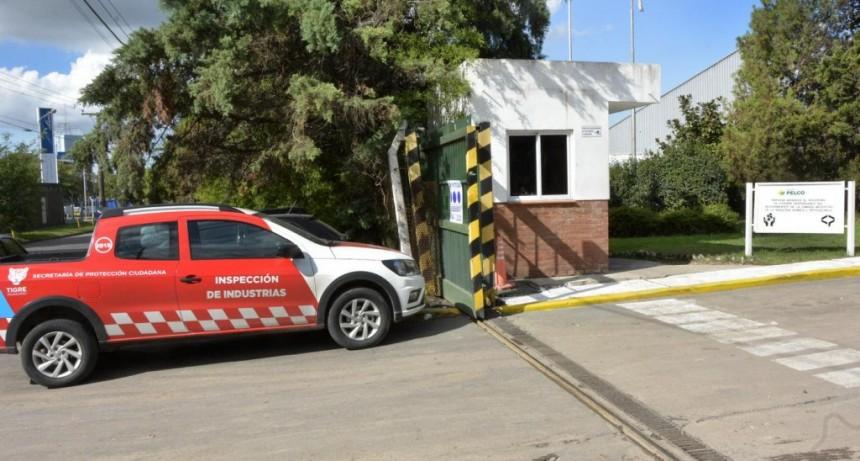 Tigre clausuró preventivamente una empresa tratadora de residuos