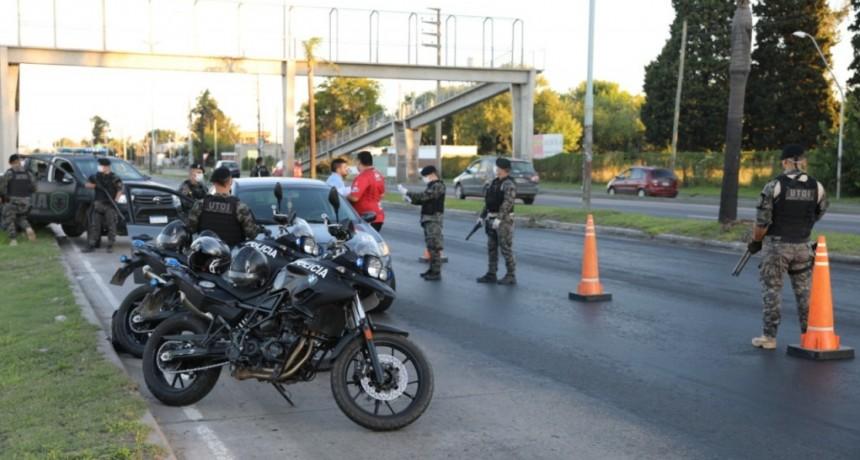 La Matanza: Se realizaron 145 detenciones durante el primer fin de semana de la cuarentena