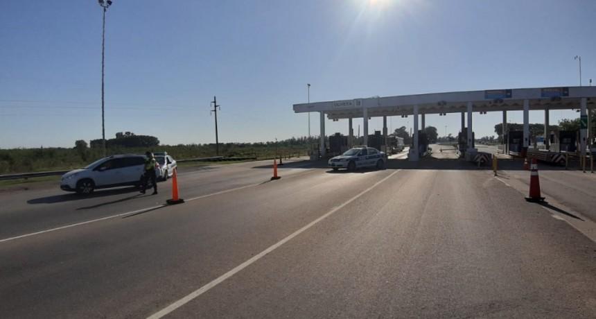 Mercedes: En el Peaje de Olivera también se realizan controles de acceso