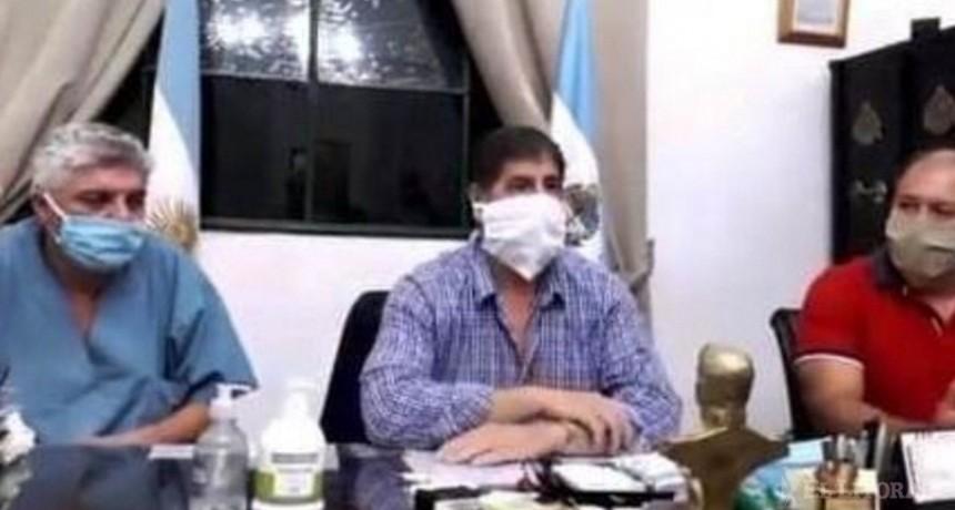 """Corrientes: Funcionario anuncia que """"1.200 van a necesitar respirador. En Esquina no contamos con eso. Quiere decir que se van a morir"""""""
