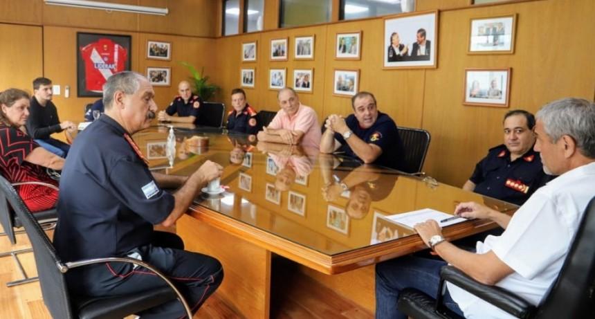 Avellaneda: Los Bomberos Voluntarios se suman al trabajo de prevención del Coronavirus