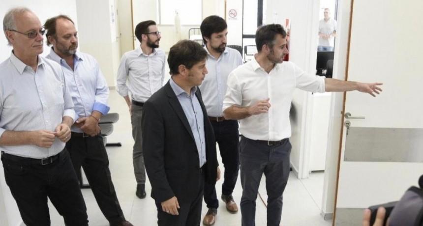 Pilar: Kicillof y Achával inauguraron el Centro de Diagnóstico destinado al coronavirus