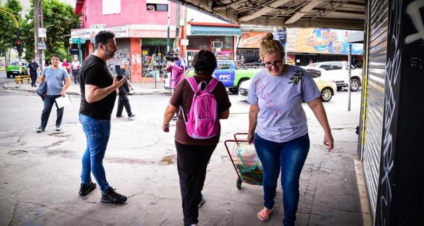 """Sobre el control de precios, Menéndez advirtió que """"no vamos a permitir que le metan la mano en el bolsillo a la gente, vamos a ser inflexibles"""""""