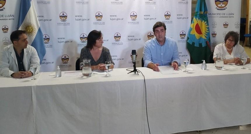 """Leo Boto: """"Estamos en una crisis inédita y por ello mi principal objetivo es asegurar la vida y la salud de los vecinos de Luján"""""""