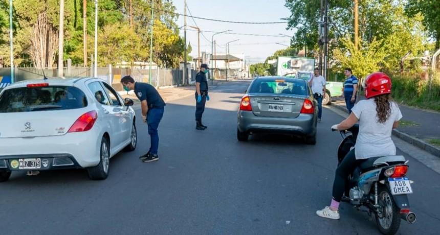 El Municipio de Junín realiza constantes controles en distintos puntos de la ciudad
