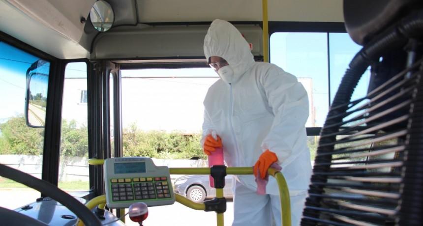 Zárate: Continúan los trabajos de limpieza preventiva y desinfección
