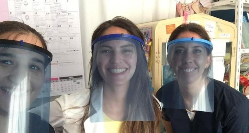 San Fernando: Vecinos construyen máscaras con impresoras 3D para los Hospitales