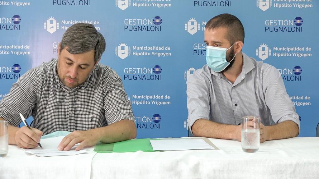 H. Yrigoyen: Lanzamiento de Tecnicatura Superior de Enfermería