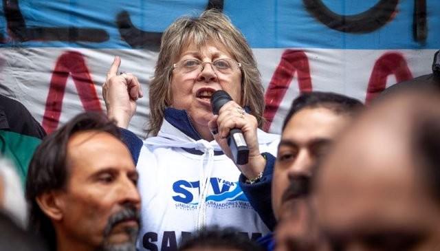 """Graciela Aleñá: """"Es hora de que alguien pague todos los maltratos que sufrimos en los 4 años del gobierno de Macri"""""""