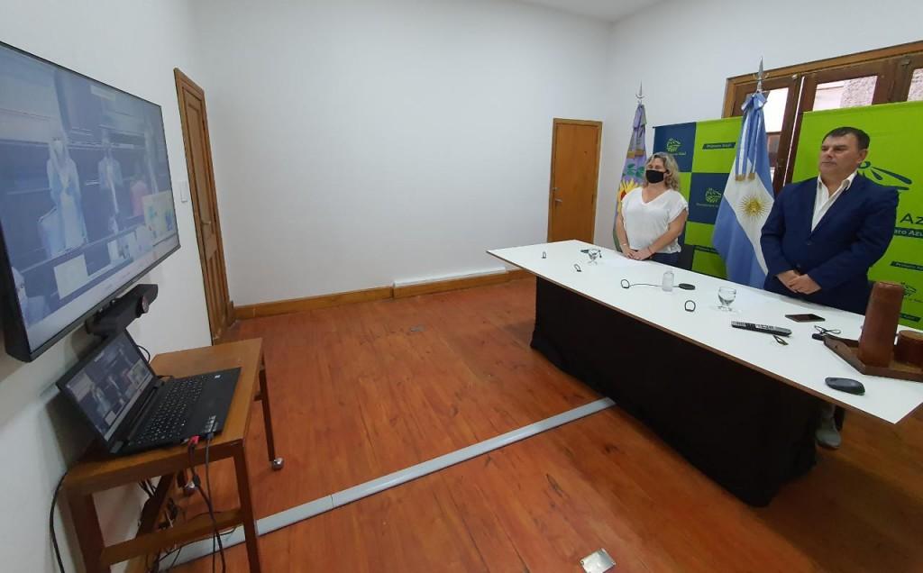 Azul: El intendente Bertellys participó de la apertura de sesiones ordinarias provinciales