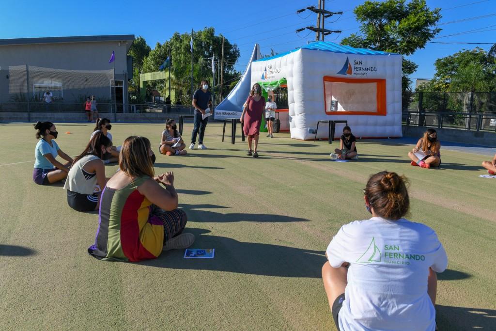 San Fernando: Se iniciaron talleres sobre Género en los Polideportivos del distrito