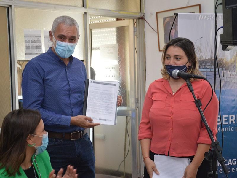 Berisso: Cagliardi presentó el protocolo local de intervención ante situaciones de violencia de género