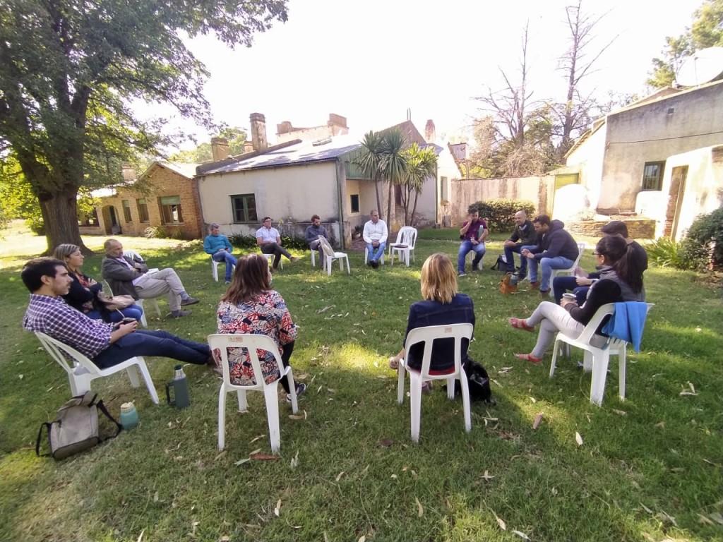 Puan presente en un encuentro sobre Turismo Rural y el Programa Alimentos Bonaerenses