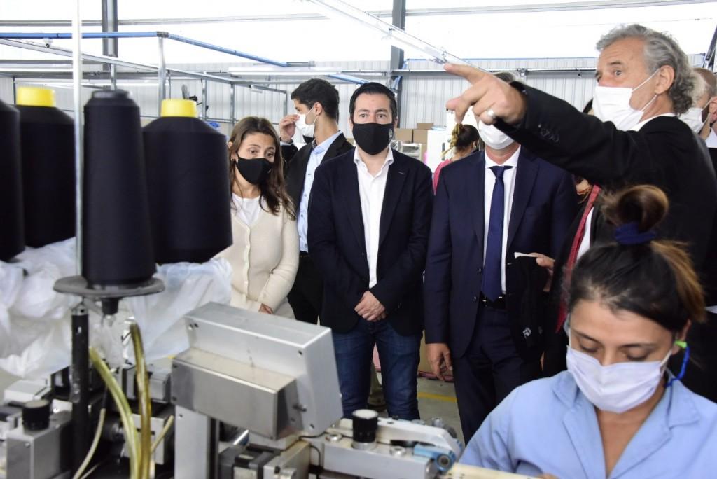 Malvinas Argentinas: Derwill invierte USD 5 millones e inaugura una nueva planta para expandir su capacidad productiva