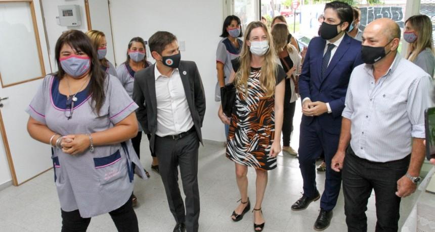 Ensenada: Inauguración del jardín N° 902 e inicio del ciclo lectivo 2021