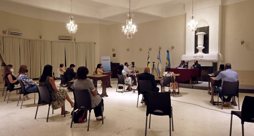Suipacha: Alejandro Federico abrió el período 2021 del HCD
