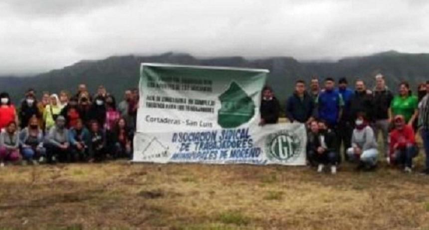 """Espindola (ASTMM): """"Viajamos junto a un grupo de afiliados a San Luis, para ratificar que nuestro sueño está en marcha"""""""